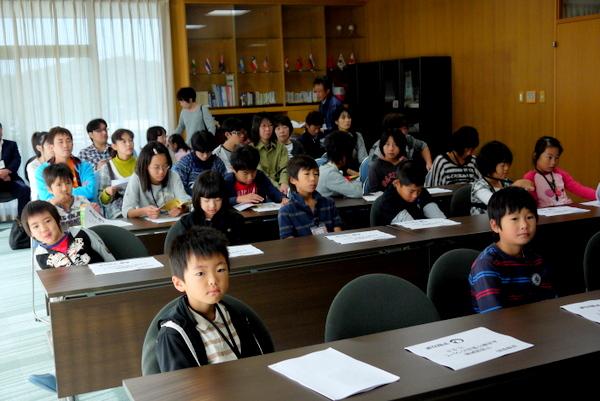 まるきキッズクラブ2011宇部かま工場見学