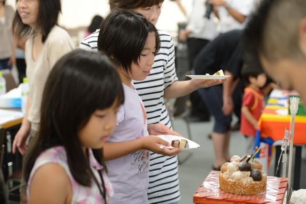 クリスマスケーキ試食会2012