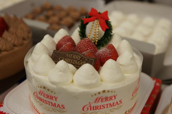 クリスマスケーキ試食会2011