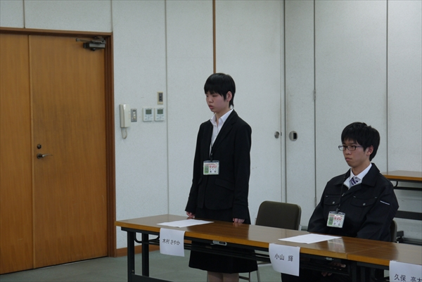 4月1日新入社員を迎えて入社式を行いました。