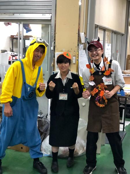 お店でHappy Halloween