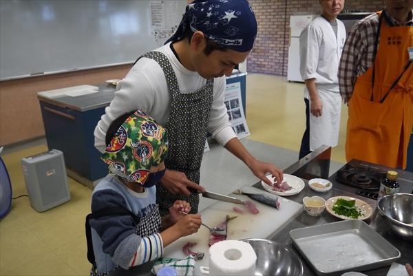お魚捌き方&握り寿司教室