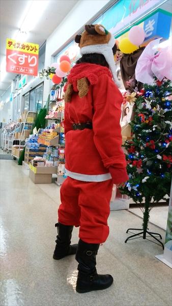 お店からメリークリスマス。